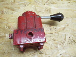 International Harvester Mccormick Valve For 55 Chisel Plow 598157r91