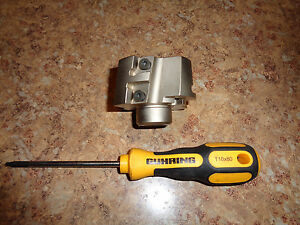 Ingersoll 2 1 4 Indexable Face Mill Plus Wrench