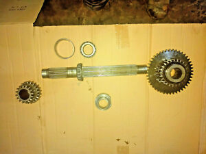 Case 430ck Tractor Transmission Top Shaft An Gear Parts 530 540c 530ck Backhoe