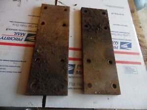 Farmall 450 Gas Farm Tractor Fender Extension Plates