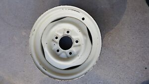 Jeep Cj5 Jeepster Willys Kaiser Steel Wheel Rim As Pictured 105