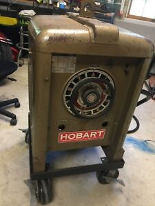 Vintage Hobart Arc Welder Tdu 292 W Leads And Electrodes Old School Stick Works