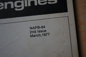 Lincoln 205 Amp Welder Perkins D3 152 Engine Parts Manual Book Catalog List 1977