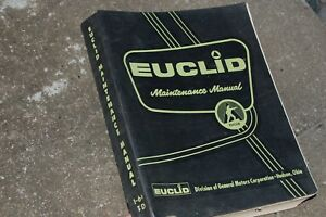 Euclid Td Series Rear Dump Truck Maintenance Service Repair Manual Overhaul Shop