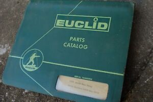 Euclid 71td Rear Dump Truck Parts Manual Book List Catalog Spare Rock Haul Owner