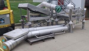 3 Wash Matcon Dump Stations Stainless Steel Tote Matcon Vessel Tank