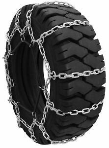 Security Chain Company Qg0125 Quik Grip Forklift Tire Traction Chain Set Of 2