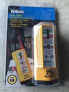 Ideal 61 076 Solenoid Voltage continuity Tester