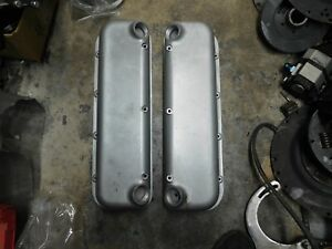 Keith Eickert Lightning Valve Covers For Big Block Chevy Heavy Cast Aluminum