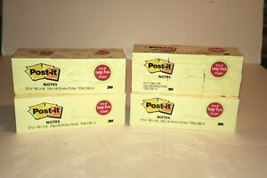 Stock Up Yellow Post It Notes 4 Packs Of 27 Pads Each