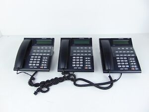 Samsung Idcs 18d Digital Business Telephone W Stand Lot Of 3 V2 2