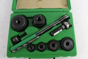 Greenlee 7238sb Slug Buster Knock Out Set Nice Brand New