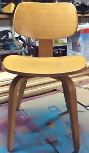 Eames Herman Miller Style Office Chair Bent Plywood