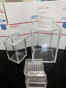 Acrylic Beta Radiation Shields Tube Racks Electrophoresis Ellard Owl Bio rad Lab