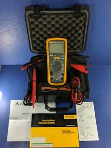 Fluke 1587 Insulation Multimeter Screen Protector Case Calibrated More