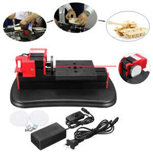 Mini Motorized Diy Metal Lathe Milling Machine Woodworking Modelmaking Grinder