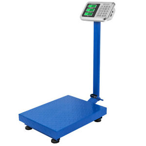 660lbs 300kg Weight Computing Platform Scale Digital Mailing Postal Shipping