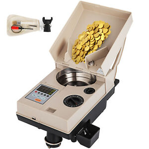 Automatic Coin Sorter Electronic Coin Counting Machine Bank Coin Counter Dimes