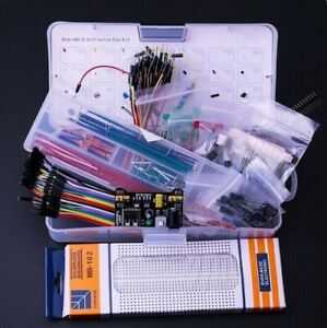 Upgrade Electronics Fun Kit Power Supply Module Jumper Wire Precision Potentiome