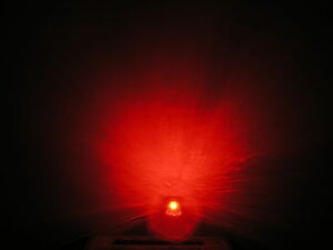 5000pcs 5mm Straw Hat Clear Red Leds Super Bright Diy Generic