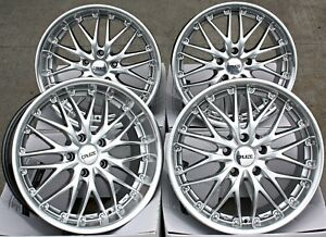 18 Alloy Wheels 18 Inch Cruize 190 Sp Staggered Deep Dish Highly Polished 5x112