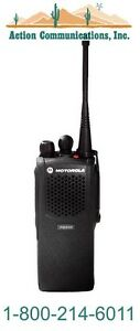 New Motorola Pr860 Vhf 136 174 Mhz 5 Watt 16 Ch Two Way Radio