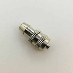 Metal Male Luer Lock Syringe Fitting To 6mm Or 1 4 Barb Hose Id