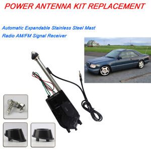 Power Antenna Kit Auto Car Aerial Radio Am fm For 1968 1982 Chevy Corvette C3