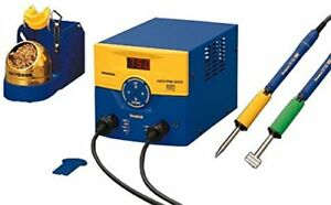 Hakko Soldering Station Dual Port Fm 203 With Conversion