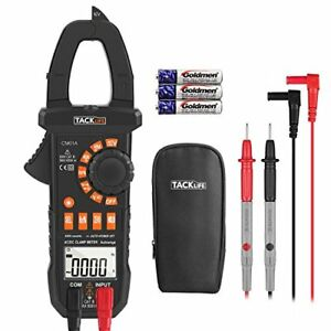 Multimeter Tacklife Cm01a Clamp Meter 4000 Counts Auto ranging Digital Tester