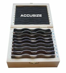 Accusizetools 9 Pairs Wavy Parallel Set 1 2 To 1 1 2 X 1 8 Increment