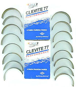 Clevite Cb663hn10 Engine Connecting Rod Bearings Sb Chevy 327 350 383 400 010