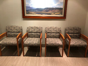8 Reception Chairs