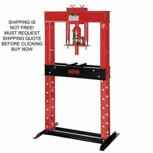 Norco Usa Made 12 Ton Manual Hand Pump Hydraulic Shop Press
