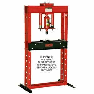 Norco Usa Made 20 Ton Manual Hand Pump Shop Press