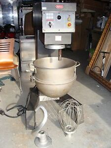 Berkel Eb 60 60 Quart Mixer Made By Hobart England 3 Phase 208 240 Volt