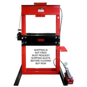 Norco Usa Made 50 Ton Air Hydraulic Automotive Metal Shop Press