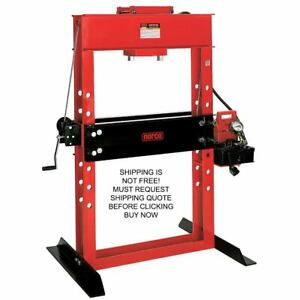 Norco Usa Made 50 Ton Electric Hydraulic Automotive Metal Shop Press