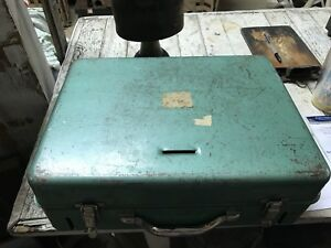 Vinage Turquoise Cash Drawer Box