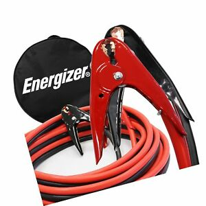 Energizer 2 gauge 800a Jumper Battery Cables 20 Ft Booster Jump Start Enb 220