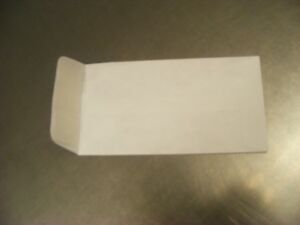 Tyvek Coin Envelope 3 5 X 6 5 With Zip Stick Closure 500 Envelopes Per Box