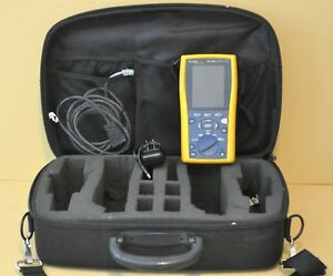Fluke Networks Dtx 1200 Smart Digital Cable Analyzer And Case Only No Remote