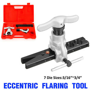 3 16 3 4 Eccentric Cone Flaring Tool For Refrigeration Copper Kit Hot Sale