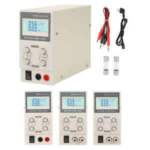 30 60v 5 10a Digital Switching Dc Power Supply Adjustable Variable Precision Lab