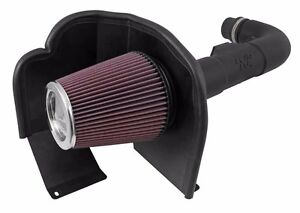 Fits Chevy Silverado 1500 2014 4 3l K n 63 Series Aircharger Cold Air Intake