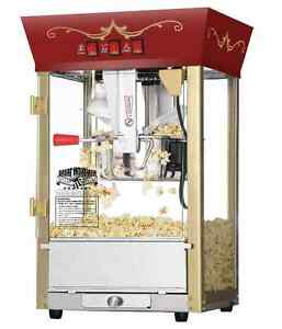Movie Theater Popcorn Machine Matinee Theater Time 8 Oz Great Northern Popper