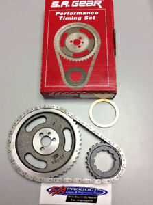 Big Block Chevy 396 454 Engine Timing Set With Thrust Washer S a Gear 78110w 9r