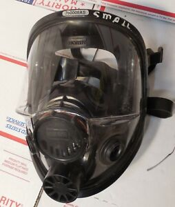 Small North 80802 Face Piece mask Assemby Scba Pro Cleaned Disinfected