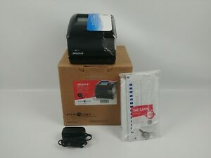 Pyramid 3600ss Smartsite Time Clock And Document Stamp Made In The Usa New