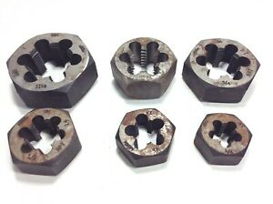 Pipe Threading Die Set Gtd Npt Greenfield Made In Usa 11 1 2 1 1 2 3 8 1 4